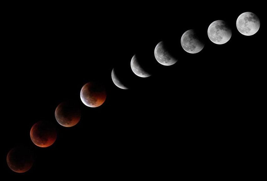 Картинки по лунному затмению