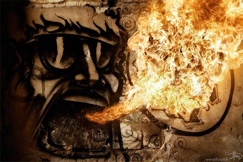 fireshow07 Стихия огня на фото Тома Лакоста