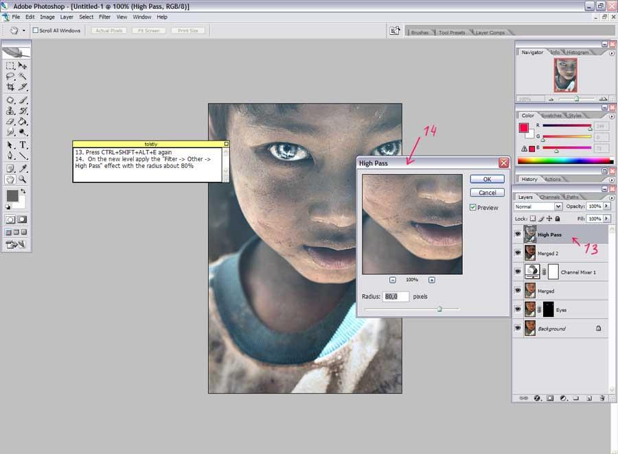 Как сделать pdf контрастнее