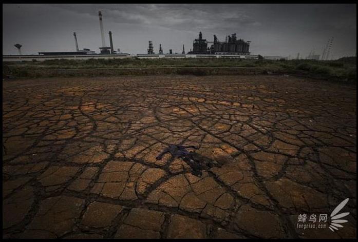 Территория химического загрязнения в