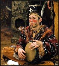 настоящему индейцу / завсегда по-барабану