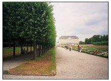 Пойдешь со мной вдоль аллеи? / Где-то в Германии, недалеко от Бонна. А точнее - Замок Augustusburg в г. Brühl.
