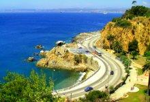 Дорога на курорт / Чили, при подъезде к Вальпараисо