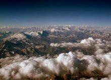 Кордильеры / пролетая из Буэнос-Айреса в Сантьяго с самолета открывается прекрасный вид на Кордильеры (в Южной Америке просто Анды)