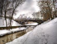 Мост над Витьбой / Пано, 6 горизонтальных кадров
