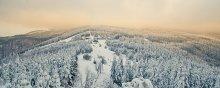 Последний день зимы. Горы. Чехия. / Попробую показать такой вот пейзаж...