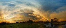 ... Небо осенью дышало ... / октябрь 2008 Вилейский р-н  пано в 3 ряда на 10 мм  оригинал здесь http://max-helloween.livejournal.com/6784.html