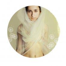 апрель / страница из имиджевого календаря текстильной фабрики