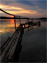 Мостик / на озере