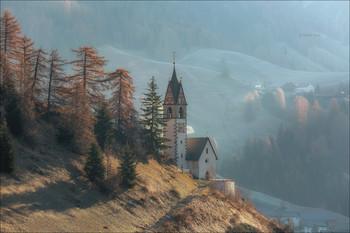 Свежесть утра / Доломитовые Альпы