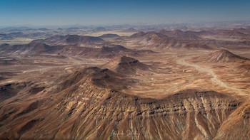Полет над пустыней / Необитаемые глубинные области на северо-западе Намибии