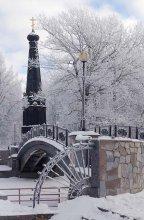В зимнем парке... / Смоленск Лопатинский сад.