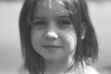 Портрет дочери / пленочные зарисовки