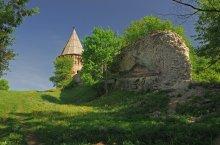 Смоленск и его окрестности...6 / Башня Веселуха Смоленской крепостной стены.
