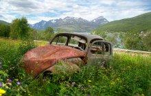 На обочине жизни... / Творение гениального Фердинанда Порше. Самый продаваемый автомобиль в мире.