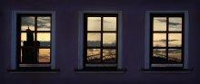 триптих из Троицкого / ловили последнее солнце убегая с работы