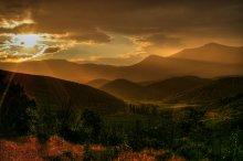 .....Дождь в долине виноградников..... / ..................