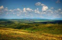 Пейзаж с холмами / *****