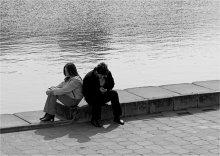 Про отношения... / Вечная тема про отношения двоих © Николай Никитин.  Из старого.