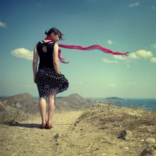 Танец ветра / Коктебель 2009 Гора Волошина