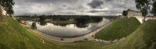|   Панорама с Замковой Горы в Гродно   | / *****