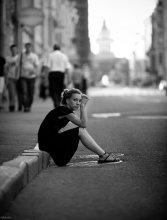 ...в одиноком городе большом где та улица... / ...ничего что ты не видел моего лица...