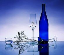 стекло синее / ******