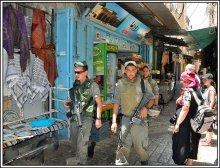 Торговая улочка старого Иерусалима / По пути к Храму гроба господня, в мусульманском квартале