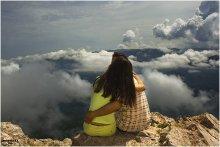 Признание, или о чувстве, уносящем к облакам / Просто: Я СЧАСТЛИВ Мне  повезло, еще ни разу не видел на Чатырдаге таких облаков :)