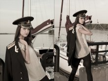 дельфины / модель - моя любимая Таня Давыденко!)