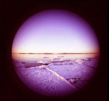 Зима / Ломография с фишайб Зимний пейзаж