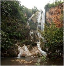 Без названия / Верхний каскад семикаскадного водопада Эраван. (Провинция Качанабури, Западный Тайланд.) Полный фотоотчет о поездке тут http://zagranka.livejournal.com/
