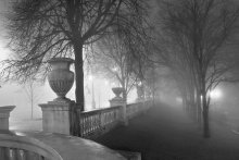 Минские туманы - 1 / туман ночь