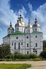Крестовоздвиженский женский монастырь в Полтаве / Основан  в 1650 году  http://aleksander-kaasik.blogspot.com/