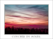 coucher du soleil / *************
