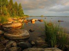 Вечерний свет / Карелия, Онежское озеро