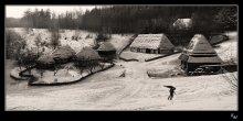 """""""Зима раскрыла снежные объятья.."""" / ..и далее.. три белых коня.."""