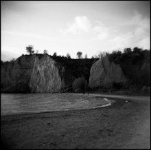 Горные породы / Kodak 120mm black and white, 320.  Где-то недалеко от Торонто