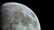 Moon / через телескоп и три макро кольца  фокус ручной