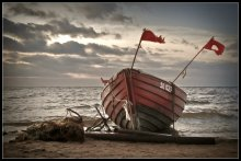На берегу... / побережье Рижского залива