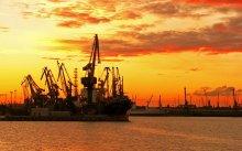 Июньским утром в порту С-Пб.ру / Белые ночи в Санкт Петербурге, июньским утром в 03:37.