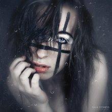 """грусть / из серии """"автопортрет"""""""