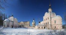 Смоленск и его окрестности 29... Аннозачатьевская церковь-2 / Панорама 4 вертикальных кадра..... прошлая была тесновата.... У карточек Смоленск - 29 и Смоленск - 27 исходники разные.