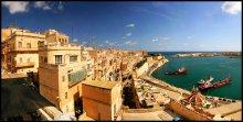 Великая Гавань, Валлетта, Мальта / Великая Гавань - крупнейший торговый порт Валлетты и всей Мальты.