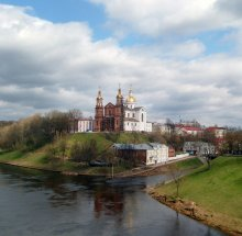 Успенский собор / В апреле в Витебске.