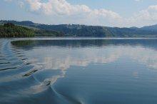 последний штрих / озеро Чорштынское,Польша.