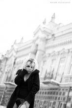 Портрет девушки на улице / Модель: Актриса, режиссёр Таня.