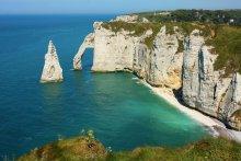Белые скалы Нормандии / Алебастровый берег в Нормандии