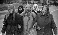 РУССКИЙ ПУТЬ. Вдовы. / Великорецкий Крестный ход. 2004 год.