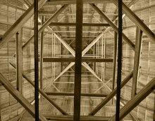 Башня... / Шатер башни Заалтарная... изнутри.